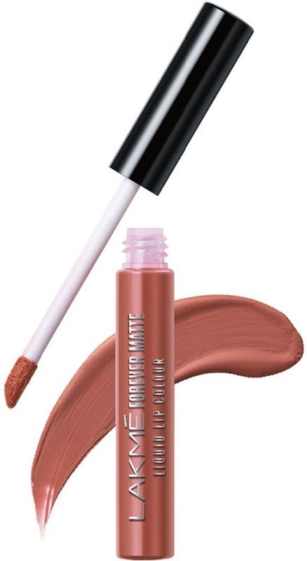 Lakme Forever Matte Liquid Lip Colour -(Nude Myth, 5.6 ml)