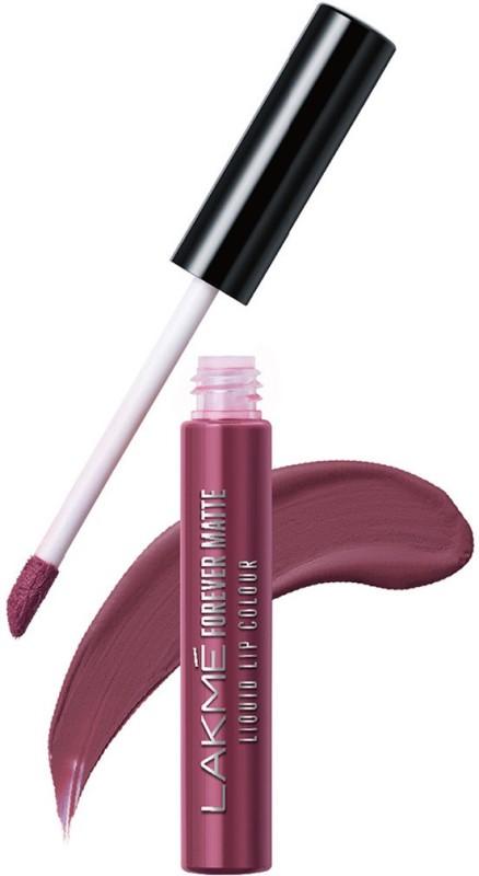 Lakme Forever Matte Liquid Lip Colour -(Mauve Ecstasy, 5.6 ml)