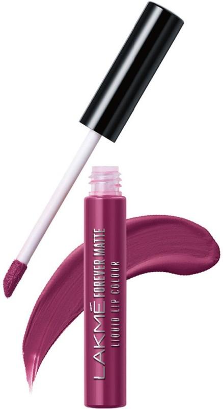 Lakme Forever Matte Liquid Lip Colour -(Purple Pout, 5.6 ml)