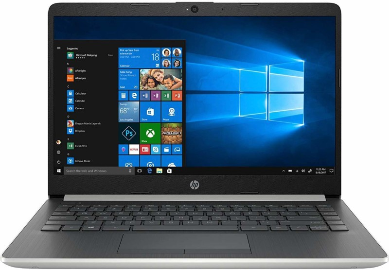 HP HP Notebook Core i5 8th Gen - (8 GB/1 TB HDD/256 GB SSD/Windows 10 Home/2 GB Graphics) 14s-CR1018TX Notebook(14 inch, Natural Silver, With MS Office)