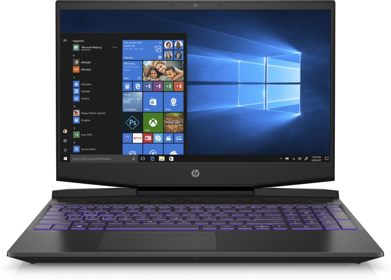 HP Pavilion Core i7 9th Gen - (8 GB/1 TB HDD/256 GB SSD/Windows 10 Home/4 GB Graphics/NVIDIA Geforce GTX 1650) 15-dk0050TX Gaming Laptop(15.6 inch, Shadow Black, 2.28 kg, With MS Office)