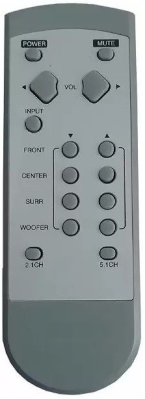 GIFFEN Compatible for LG Home Theater System LG73 2.1 and 5.1 Home Theater System Remote Controller(White)