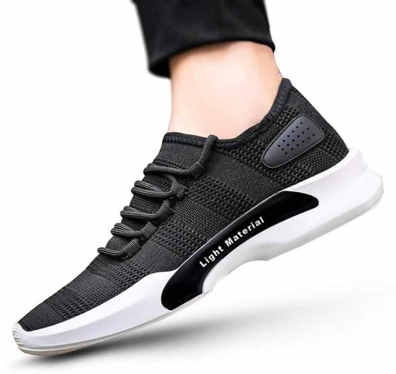 DUNKASTON Running Shoes For Men(Black)