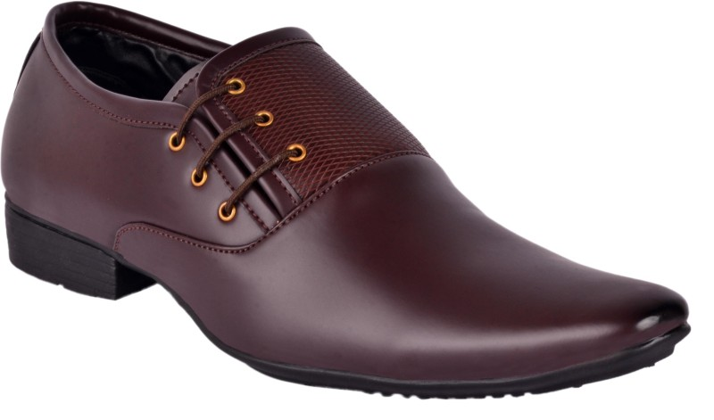 Aadi Lace Up For Men(Brown)