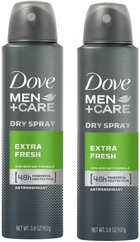 Dove Men+Care Extra Fresh Antiperspirant Spray 150ML Each (Pack of 2) Deodorant Spray - For Men(300 ml, Pack of 2)