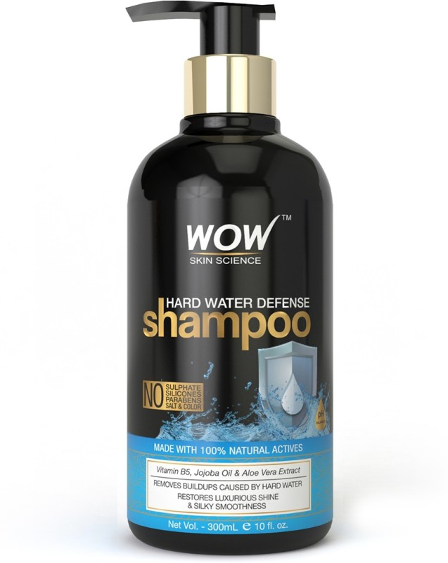 WOW Skin Science Hard Water Defense Shampoo - 300 mL(300 ml)