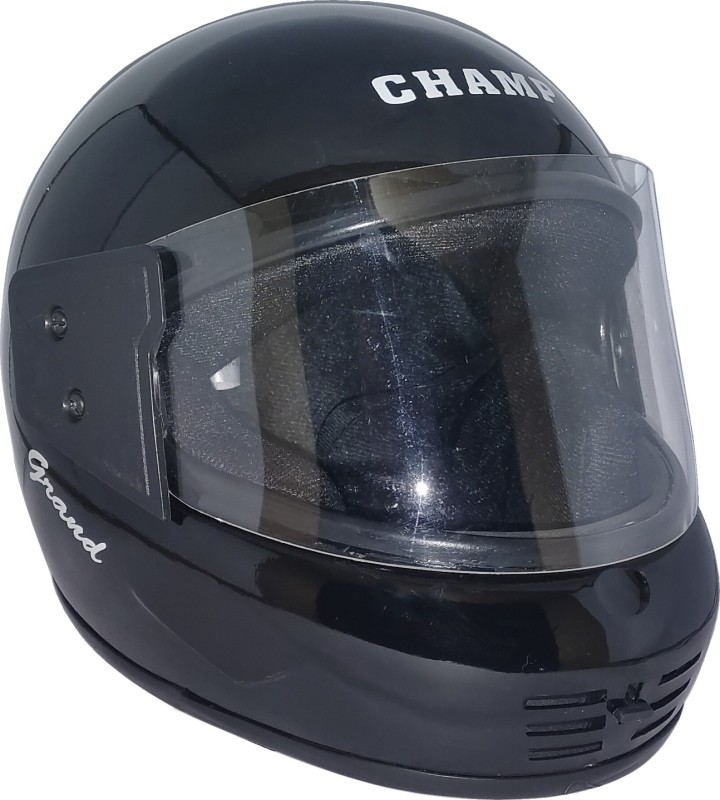 Mob2Shop.in Camp_6 Motorbike Helmet(Black)