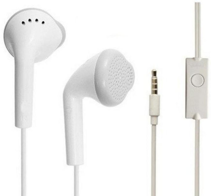 Moojlo Earphone For Acid eye BasicM_I M_i Basic7 Wired Headset(White, In the Ear)
