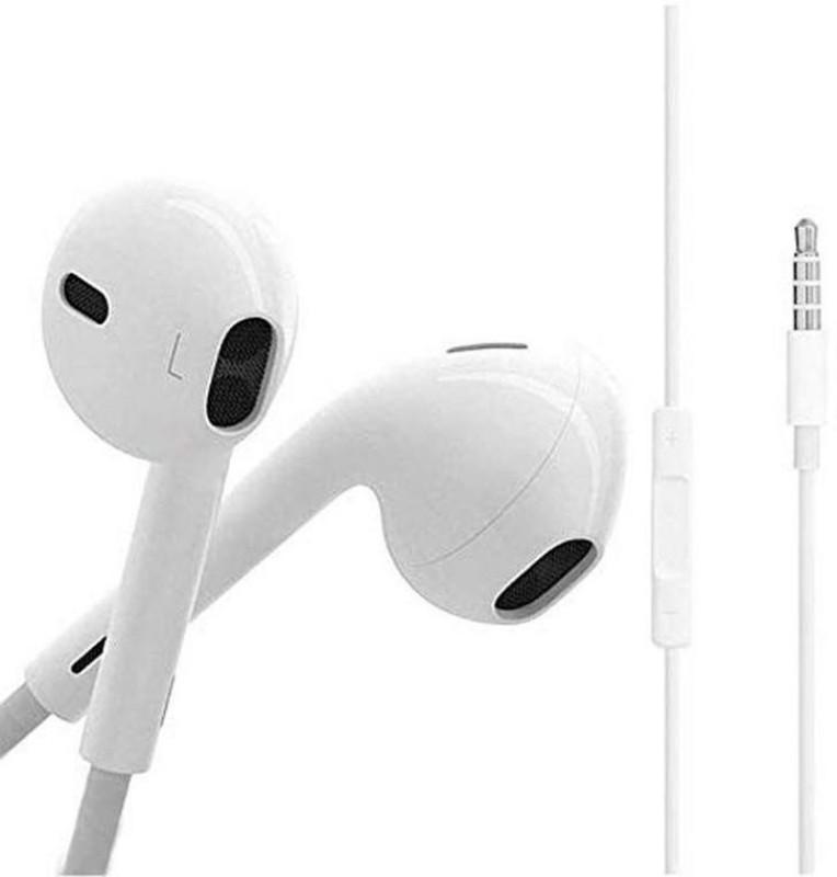 Moojlo Earphone For Ecko BasicM_I M_i Basic9 Wired Headset(Black, In the Ear)