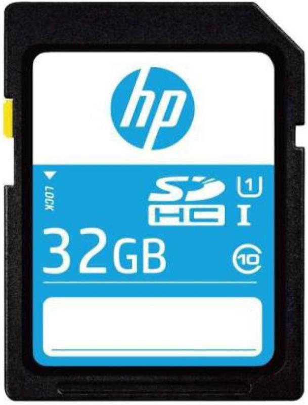 HP sd210 32 GB SD Card Class 10 90 MB/s Memory Card