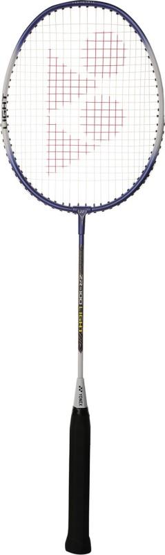 Yonex ZR100 Light Dark Blue Strung Badminton Racquet(Pack of: 1, 85 g)