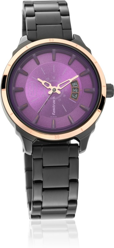 Fastrack 6187KM03 All Nighters Analog Watch - For Women