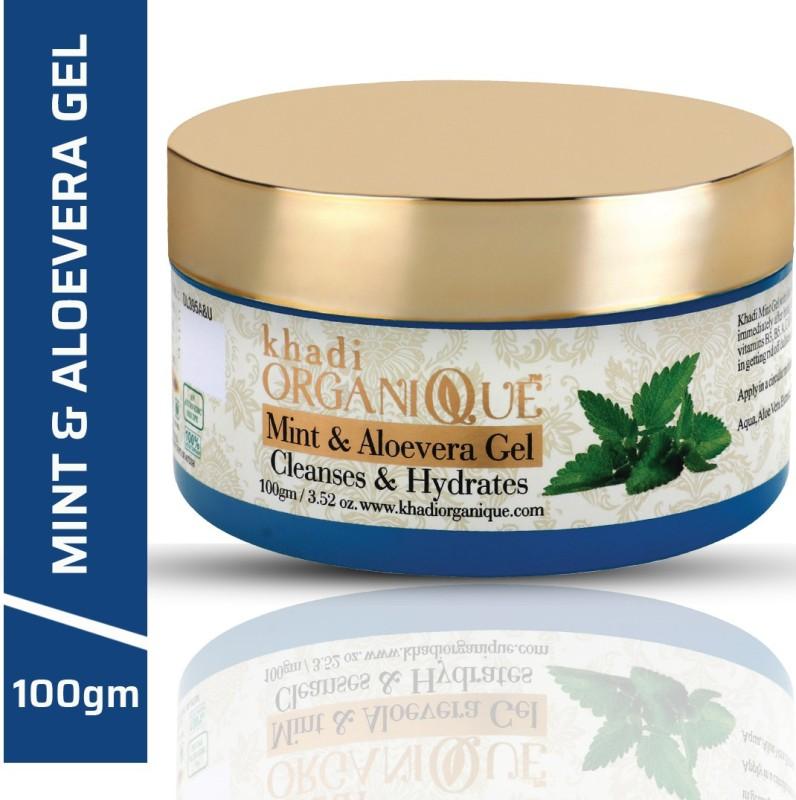 Khadi Organique Aloevera Gel 100 % pure Hair & Skin(100 g)