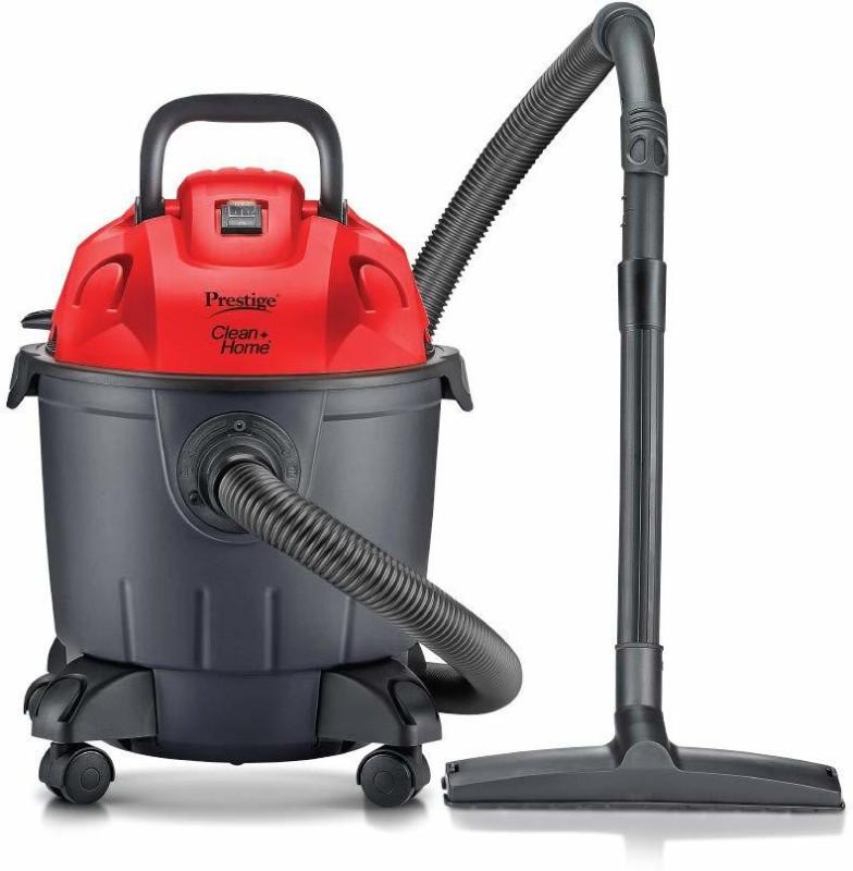 Prestige Typhoon 07 Wet & Dry Vacuum Cleaner(Black, Red)