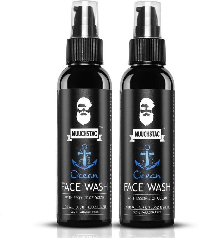 MUUCHSTAC Ocean Face Wash- (200ml ) Face Wash(200 ml)