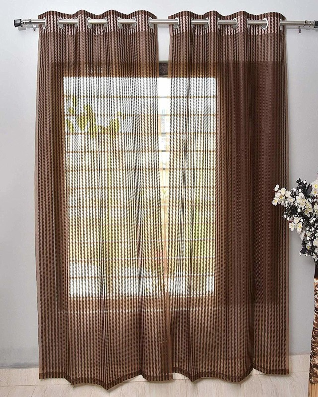 check MRP of brown color curtains Amts