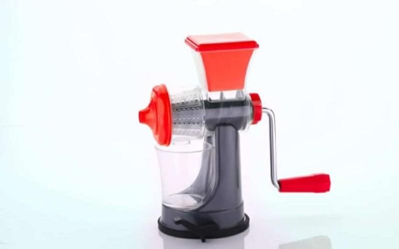 3D METRO SUPER STORE Nano Fruit & Vegetable Plastic Hand Juicer Plastic Hand Juicer(Red Pack of 1)