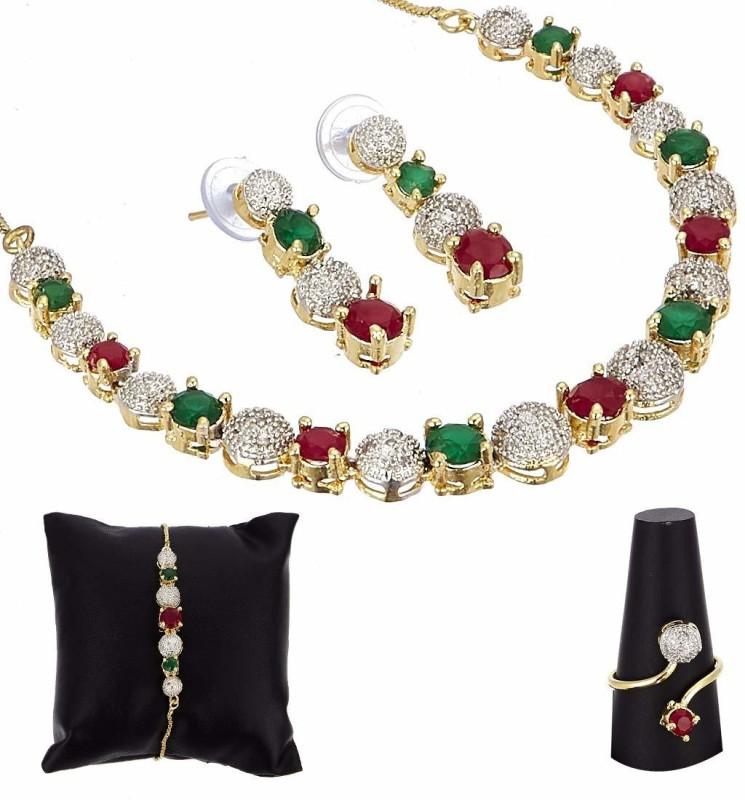 crystal fashion store Alloy Jewel Set(Multicolor)