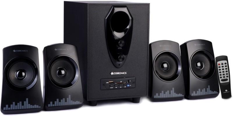 Zebronics Feel 60 W Bluetooth Home Theatre(Black, 4.1 Channel)