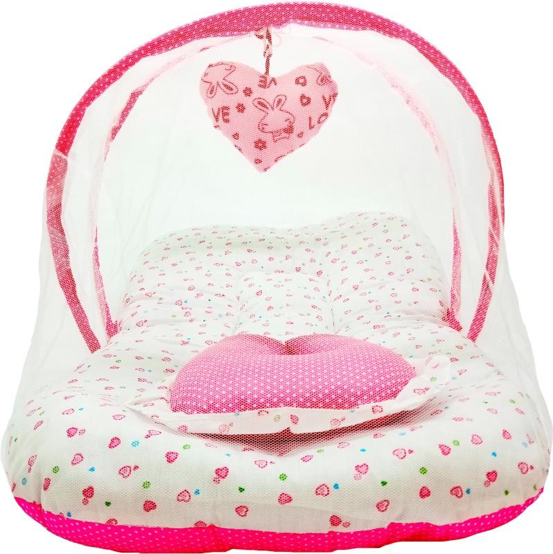 Aayat Kids ® Best Baby 6 to 12 months Luxury Model Z114 Standard Crib(Fabric, Multicolor)