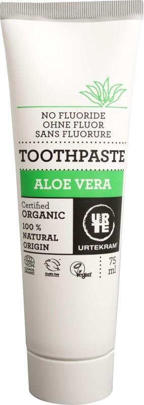 URTEKRAM organic Aloe vera toothpaste 75ml Toothpaste(75 g)