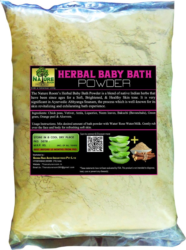 THE NATURE ROOM HERBAL BATH POWDER FOR BABIES(1 kg)