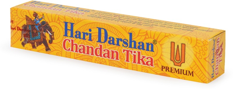 Hari Darshan Special Chandan tika tube Best for Pooja , increases your concentration, relieves insomnia and stress , keeps you positive Chandan tika tube(Yellow)