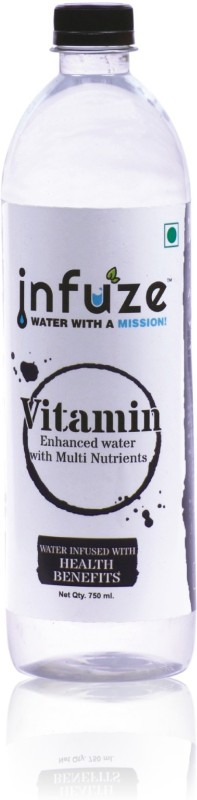 infuze Vitamin Enhanced Water ( Pack of 12 ) - 750ml Vitamin(750 ml, Pack of 12)