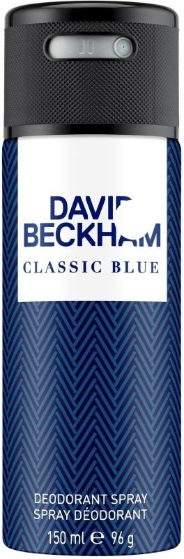 David Beckham Classic Blue (New) Deodorant Spray - For Men(150 ml)