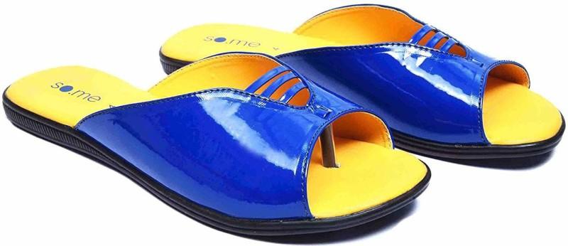 SO.ME Women Blue Flats