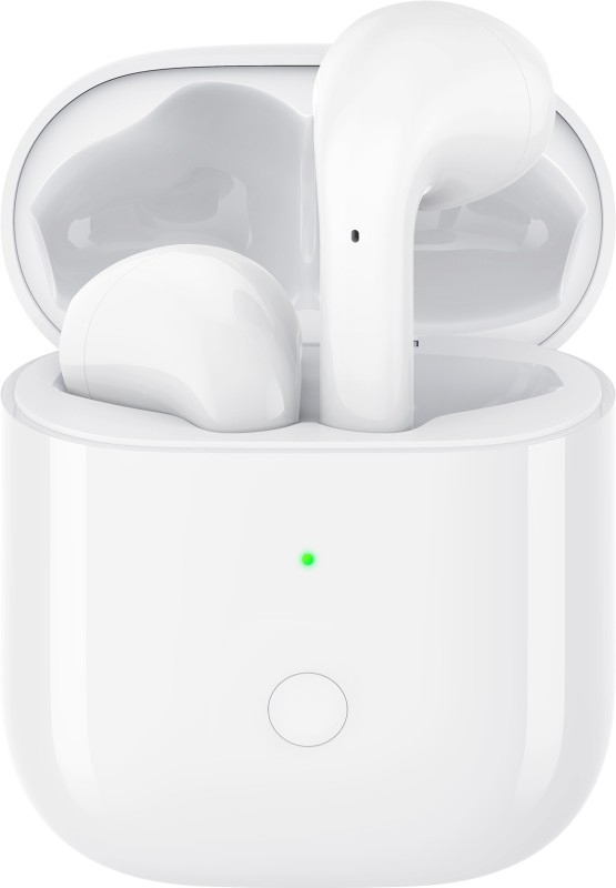 realme Buds Air True Wireless Bluetooth Headset with Mic(White, In the Ear)