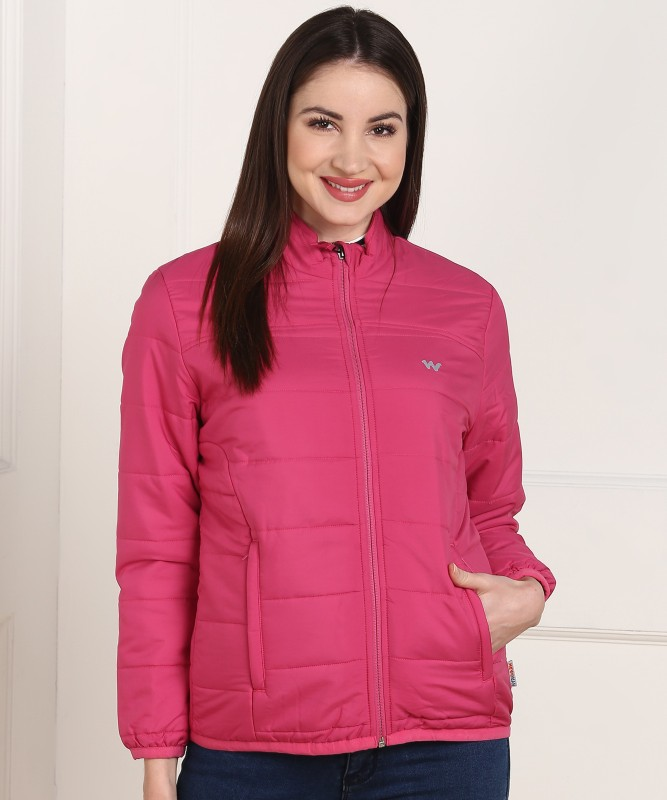 Wildcraft Full Sleeve Solid Women Jacket