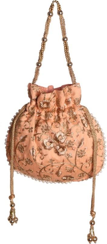 Your Pretty Closet Ethnic Rajasthani Potli Bag Potli(Gold)