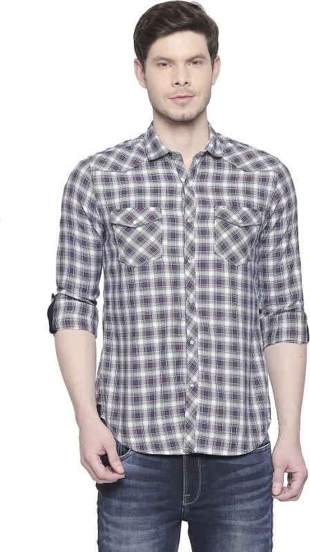 Killer Men Checkered Casual Multicolor Shirt