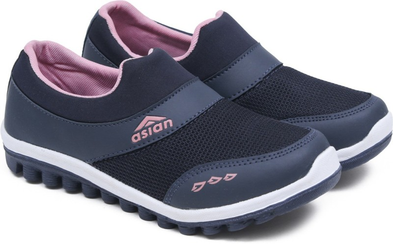 Asian Riya-04 Navy Pink Sports Shoes,Gym Shoes,Casual Shoes,Walking Shoes, Running Shoes For Women(Navy, Pink)