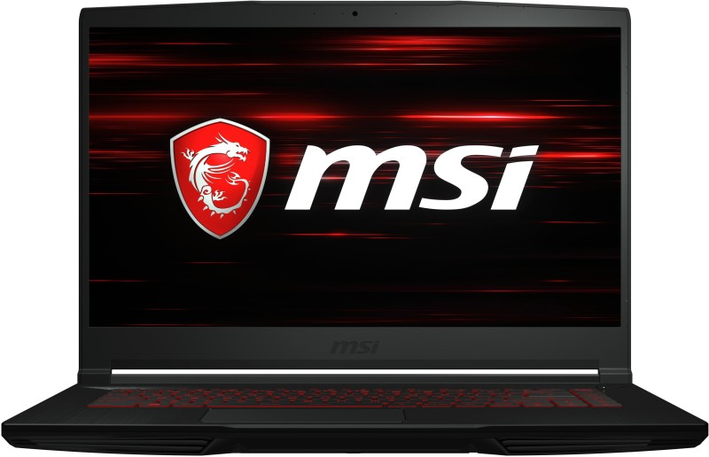 MSI GF63 Thin Core i7 9th Gen - (8 GB/512 GB SSD/Windows 10 Home/4 GB Graphics/NVIDIA Geforce GTX 1650 MaxQ) GF63 Thin 9SC-460IN Gaming Laptop(15.6 inch, Black, 1.86 kg)