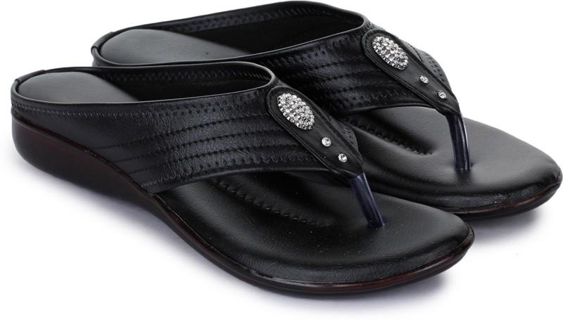 Bootco Women Black Flats
