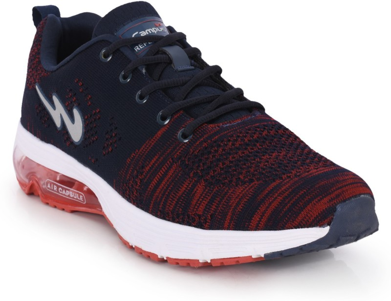 Campus MORGAN Running Shoes For Men(Blue, Red)