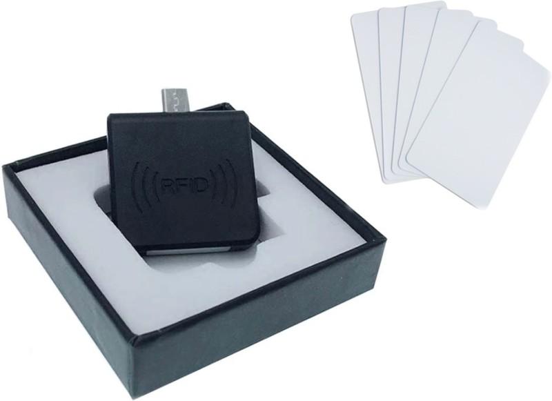 Drivool Attendance Kit R125 (Portable RFID 125Khz Mobile Reader) RFID-NFC Scanner for School Bus, Office Entrance, Class, Student Attendance SS1 Omni-Directional Barcode Scanner(Handheld)