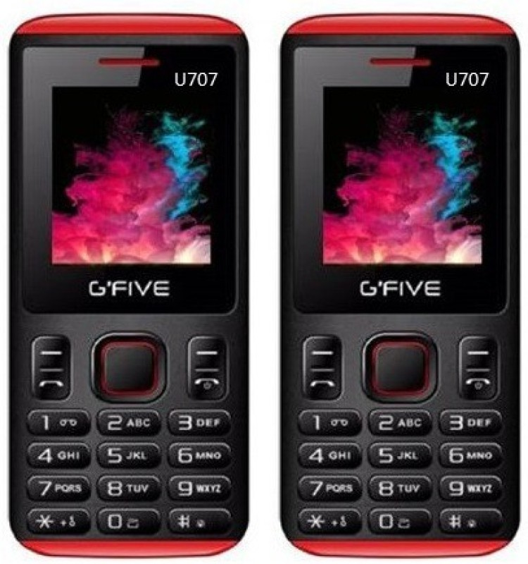 Gfive U707 combo of Two(Black : Black)