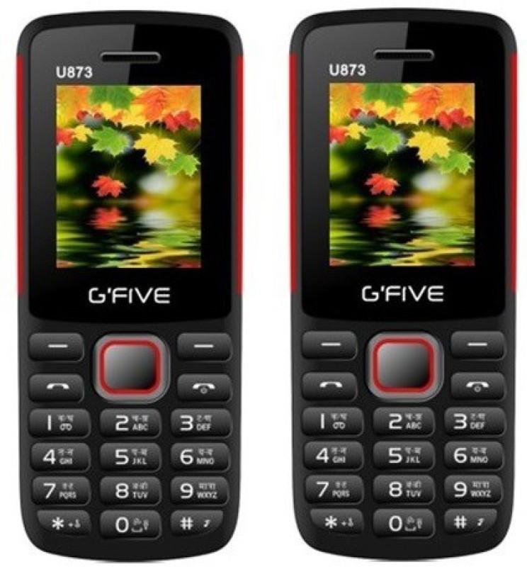 Gfive U873 Combo of Two(Black : Black)