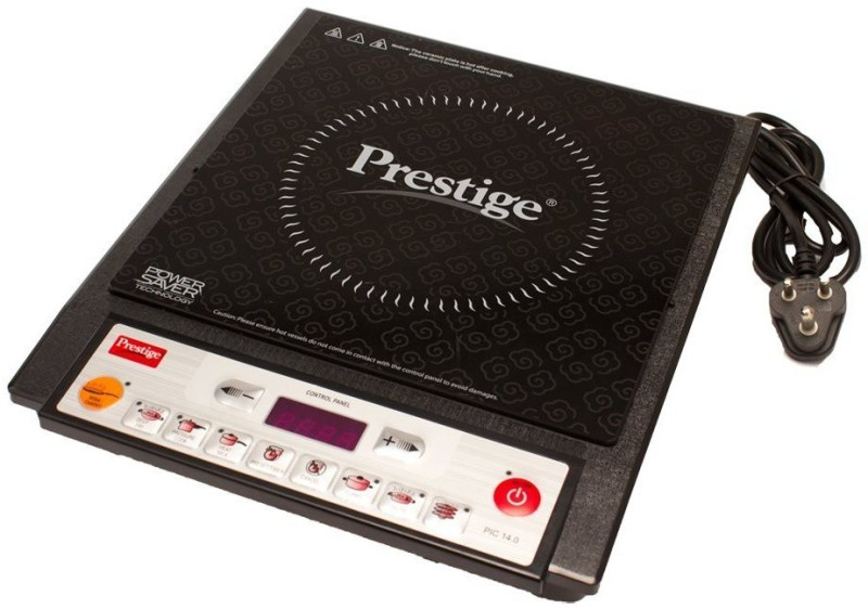 Prestige PIC 14.0 2000-Watt Induction Cooktop with Push Button (Black) Induction Cooktop(Black, Push Button)