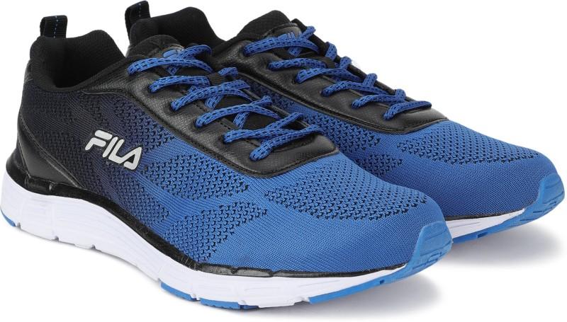 Fila RUN LITE Running Shoes For Men(Blue)