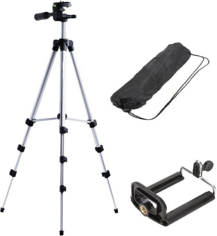 SYL PLUS TRIPOD 3110 Tripod(Silver, Supports Up to 420 g)