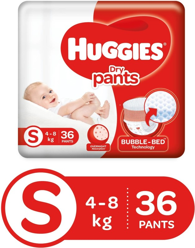 Huggies Dry pants Small - S(36 Pieces)