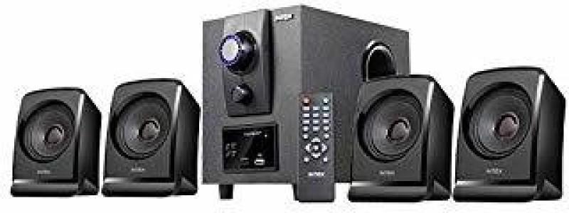 Intex 2616 XV 4.1 MULTIMEDIA SPEAKER 15 W Bluetooth Home Theatre(Black, 4.1 Channel)