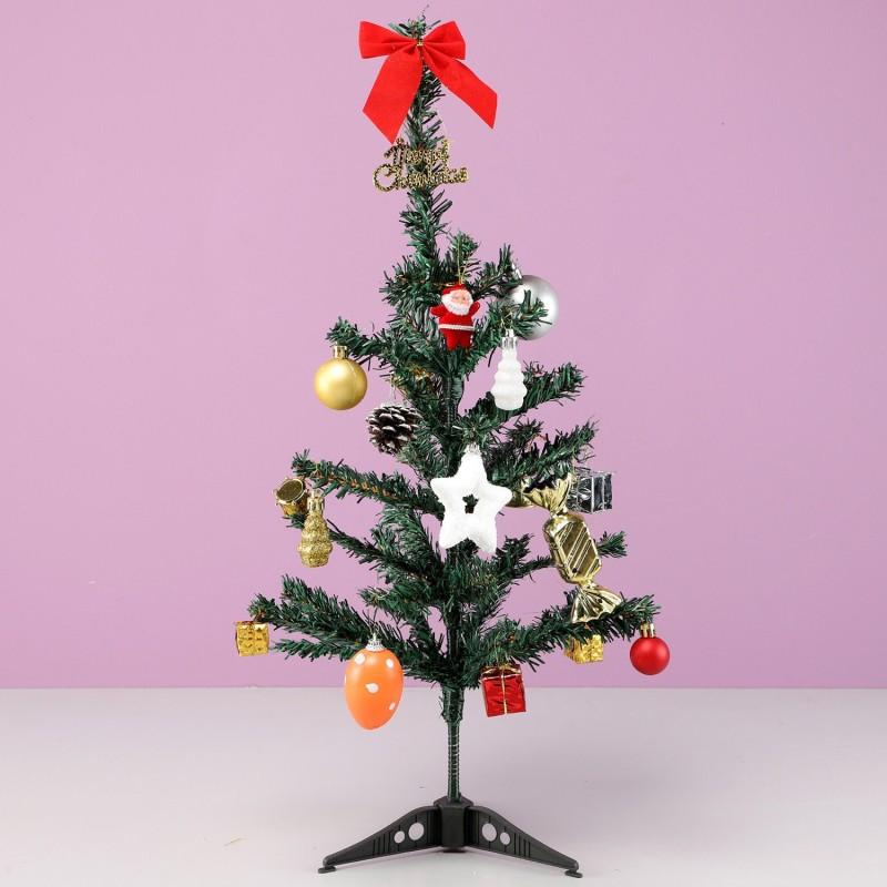 Ferns N Petals Generic 30 cm (0.98 ft) Artificial Christmas Tree(Green)