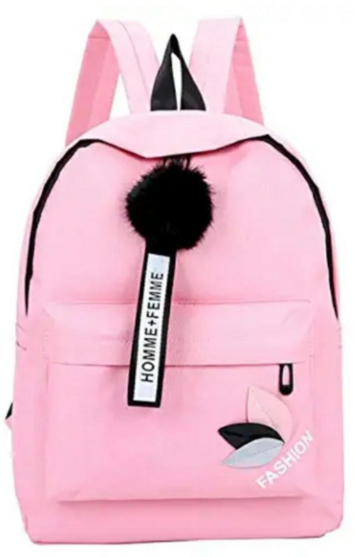 POSSHUSA Backpack 25 L Backpack(Pink)