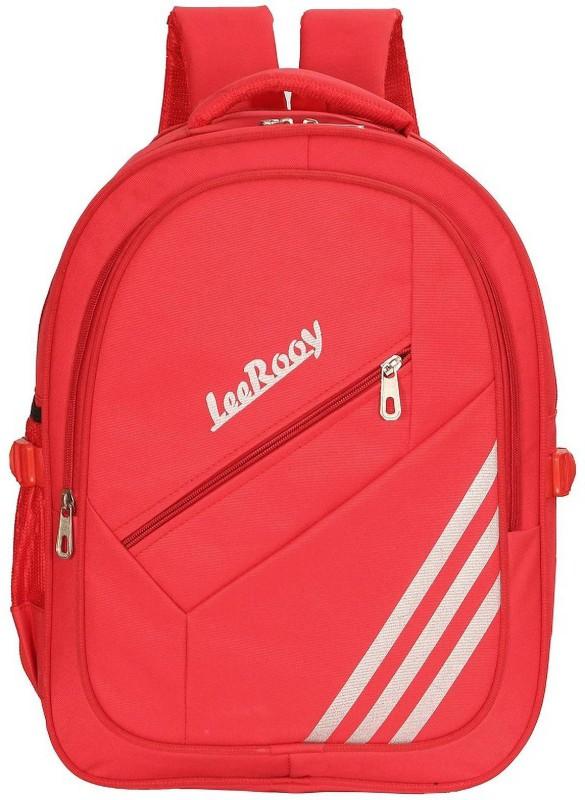 LeeRooy Casual Bag Waterproof Backpack(Red, 37 L)