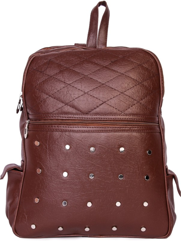 HZB Collection Barfi Cut Backpack Backpack(Brown, 25 L)
